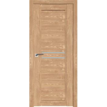 Дверь Профиль дорс 2.75XN Каштан натуральный - со стеклом (Товар № ZF212200)