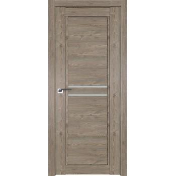 Дверь Профиль дорс 2.75XN Каштан темный - со стеклом (Товар № ZF212253)