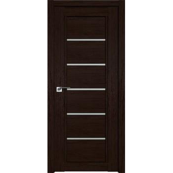 Дверь Профиль дорс 2.76XN Дарк браун - со стеклом (Товар № ZF211965)