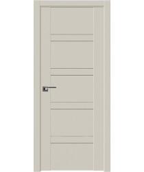 Дверь Профиль дорс 2.80U Магнолия сатинат - со стеклом (Товар № ZF211605)