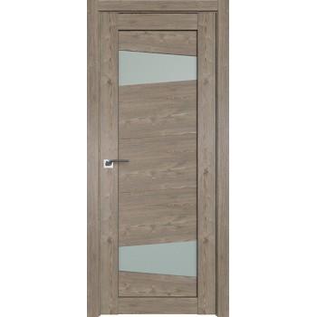 Дверь Профиль дорс 2.84XN Каштан темный - со стеклом (Товар № ZF212259)