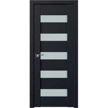 Дверь Профиль Дорс 29U Черный матовый - со стеклом (Товар № ZF209255)