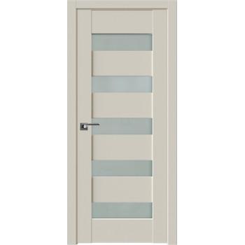 Дверь Профиль Дорс 29U Магнолия сатинат - со стеклом (Товар № ZF209226)