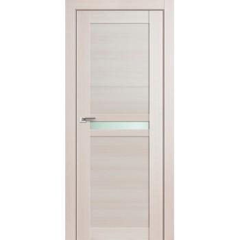 Дверь Профиль дорс 2.43Х Эш вайт мелинга - со стеклом (Товар № ZF210831)