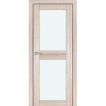 Дверь Профиль дорс 2.44Х Капучино мелинга - со стеклом (Товар № ZF210757)