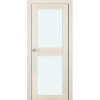 Дверь Профиль дорс 2.44Х Эш вайт мелинга - со стеклом (Товар № ZF210759)
