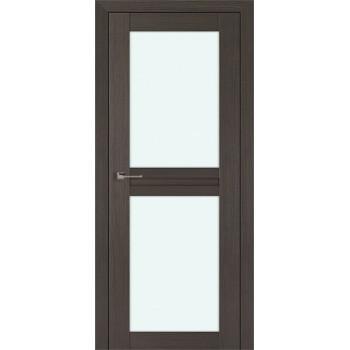 Дверь Профиль дорс 2.44Х Грей мелинга - со стеклом (Товар № ZF210767)