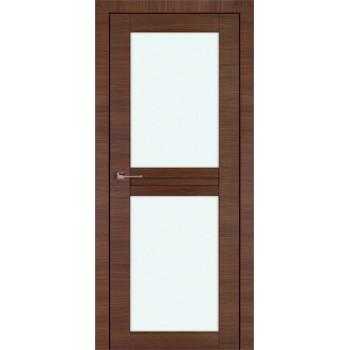 Дверь Профиль дорс 2.44Х Малага черри кроскут - со стеклом (Товар № ZF210761)