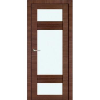 Дверь Профиль дорс 2.46Х Малага черри кроскут - со стеклом (Товар № ZF208804)