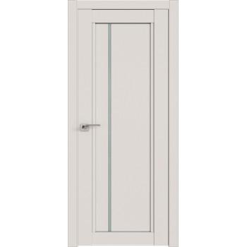 Дверь Профиль дорс 2.70U Дарк вайт - со стеклом (Товар № ZF211446)
