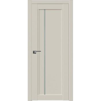 Дверь Профиль дорс 2.70U Магнолия сатинат - со стеклом (Товар № ZF211600)