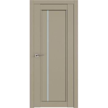 Дверь Профиль дорс 2.70U Шеллгрей - со стеклом (Товар № ZF211060)