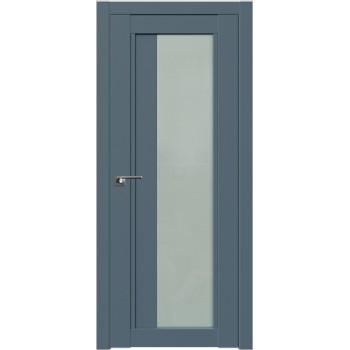 Дверь Профиль дорс 2.72U Антрацит - со стеклом (Товар № ZF211155)