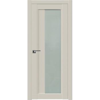 Дверь Профиль дорс 2.72U Магнолия сатинат - со стеклом (Товар № ZF211602)
