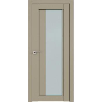 Дверь Профиль дорс 2.72U Шеллгрей - со стеклом (Товар № ZF211062)