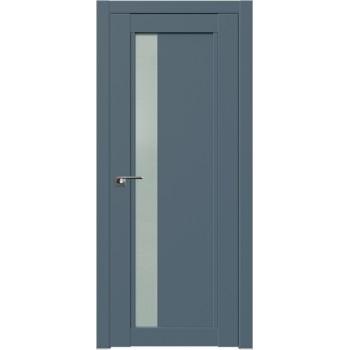 Дверь Профиль дорс 2.71U Антрацит - со стеклом (Товар № ZF211157)