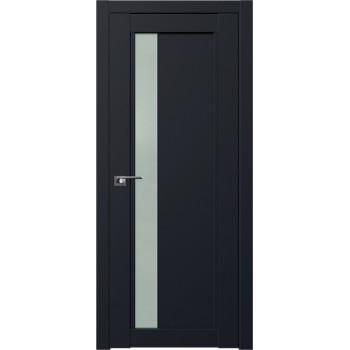 Дверь Профиль дорс 2.71U Черный матовый - со стеклом (Товар № ZF211724)