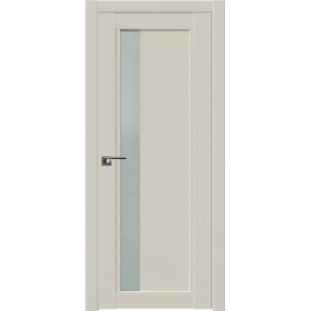 Дверь Профиль дорс 2.71U Магнолия сатинат- со стеклом (Товар № ZF211601)