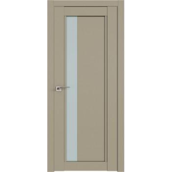 Дверь Профиль дорс 2.71U Шеллгрей - со стеклом (Товар № ZF211061)