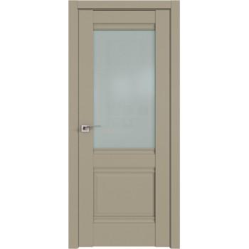 Дверь Профиль Дорс 2U Шеллгрей - со стеклом (Товар № ZF209115)