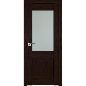 Дверь Профиль дорс 2XN Дарк браун - со стеклом (Товар № ZF211947)