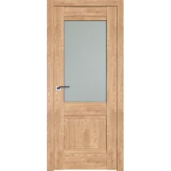 Дверь Профиль дорс 2XN Каштан натуральный - со стеклом (Товар № ZF212288)