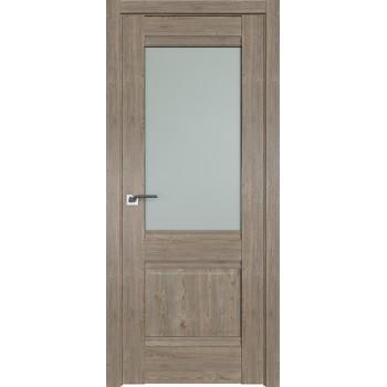 Дверь Профиль дорс 2XN Каштан темный - со стеклом (Товар № ZF212234)