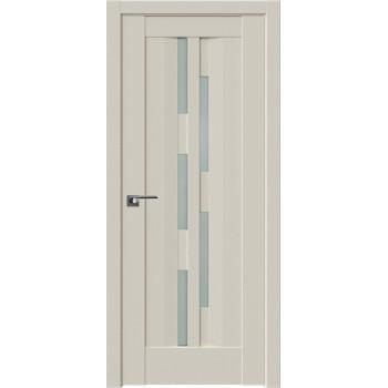 Дверь Профиль Дорс 30U Магнолия сатинат - со стеклом (Товар № ZF209227)