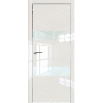 Дверь Профиль дорс 34LK Магнолия люкс - со стеклом (Товар № ZF210146)