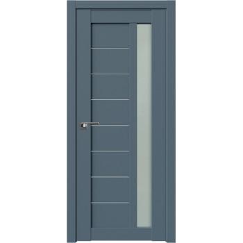 Дверь Профиль Дорс 37U Антрацит - со стеклом (Товар № ZF209120)