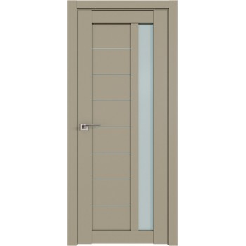 Дверь Профиль Дорс 37U Шеллгрей - со стеклом (Товар № ZF209088)