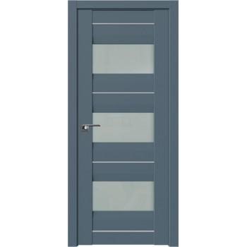 Дверь Профиль Дорс 41U Антрацит - со стеклом (Товар № ZF209122)