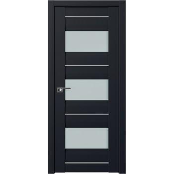 Дверь Профиль Дорс 41U Черный матовый - со стеклом (Товар № ZF209253)