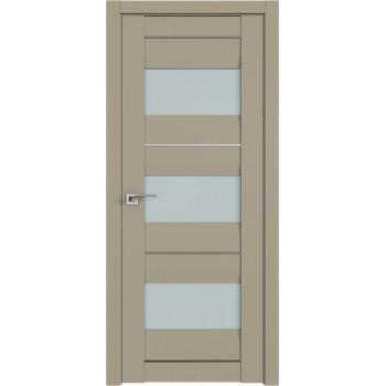 Дверь Профиль дорс 41U Шеллгрей - со стеклом (Товар № ZF209091)
