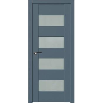 Дверь Профиль Дорс 46U Антрацит - со стеклом (Товар № ZF211077)