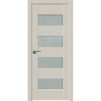 Дверь Профиль Дорс 46U Магнолия сатинат - со стеклом (Товар № ZF211209)