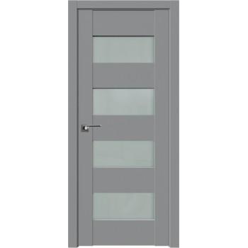 Дверь Профиль дорс 46U Манхэттен - со стеклом (Товар № ZF209172)