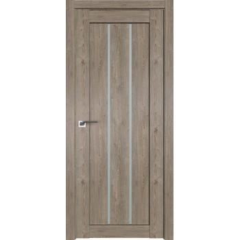 Дверь Профиль дорс 49XN Каштан темный - со стеклом (Товар № ZF212262)