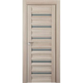 Дверь Профиль дорс 57Х Капучино мелинга - со стеклом (Товар № ZF210760)