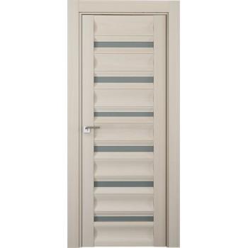 Дверь Профиль дорс 57Х Эш вайт мелинга - со стеклом (Товар № ZF210768)