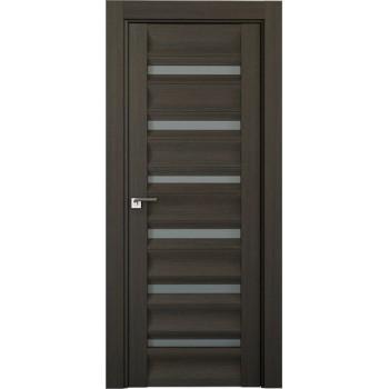 Дверь Профиль дорс 57Х Грей мелинга - со стеклом (Товар № ZF210774)
