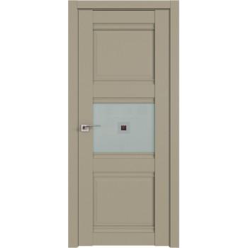 Дверь Профиль Дорс 5U Шеллгрей - со стеклом (Товар № ZF209104)