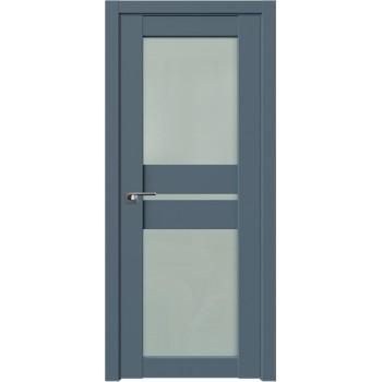 Дверь Профиль дорс 70U Антрацит - со стеклом (Товар № ZF211101)