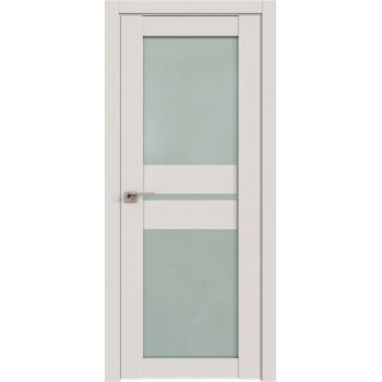 Дверь Профиль дорс 70U Дарк вайт - со стеклом (Товар № ZF211393)