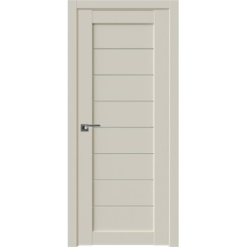 Дверь Профиль дорс 71U Магнолия сатинат - со стеклом (Товар № ZF211494)