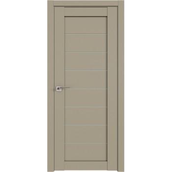 Дверь Профиль дорс 71U Шеллгрей - со стеклом (Товар № ZF210960)