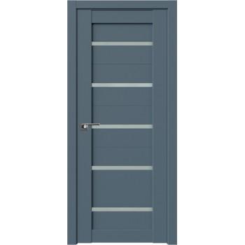 Дверь Профиль Дорс 7U Антрацит - со стеклом (Товар № ZF209100)