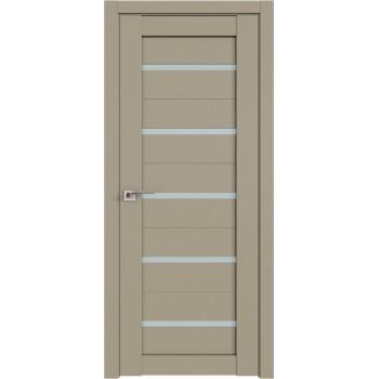 Дверь Профиль Дорс 7U Шеллгрей - со стеклом (Товар № ZF209073)