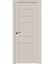Дверь Профиль дорс 98U Магнолия сатинат - со стеклом (Товар № ZF211540)