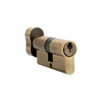 Ключевой цилиндр Adden Bau CYL 5-60 KNOB Бронза (Товар № ZF212631)